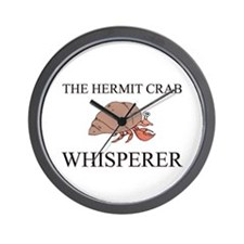The Hermit Crab Whisperer Wall Clock