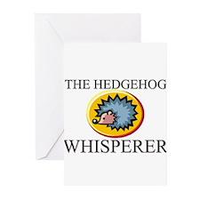The Hedgehog Whisperer Greeting Cards (Pk of 10)