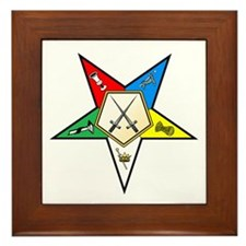 OES Sentinel Framed Tile
