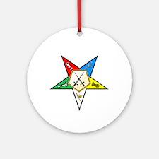 OES Sentinel Ornament (Round)