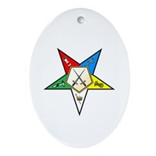OES Sentinel Oval Ornament