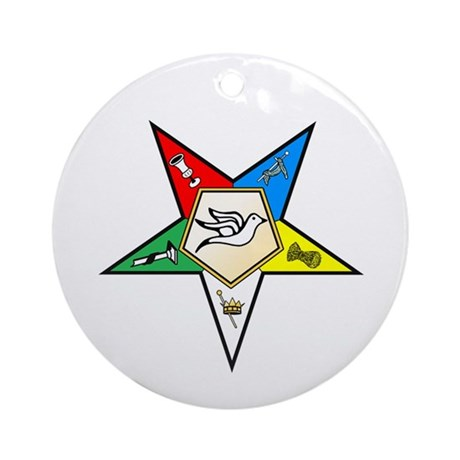 OES Warder Ornament (Round)