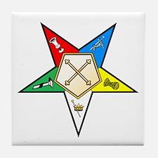 OES Marshal Tile Coaster