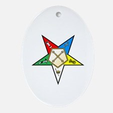 OES Marshal Oval Ornament