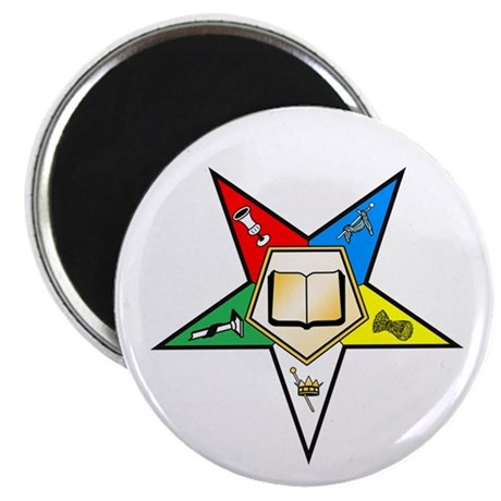 """OES Chaplain 2.25"""" Magnet (10 pack)"""