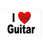 I Love Guitar Postcards (Package of 8)