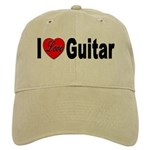 I Love Guitar Cap