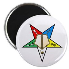 """OES Associate Conductress 2.25"""" Magnet (100 pack)"""