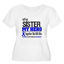 ColonCancerHero Sister T-Shirt