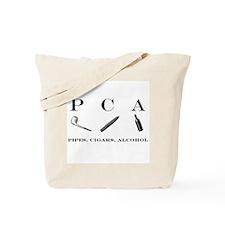 PCA - pipes, cigars, alcohol Tote Bag