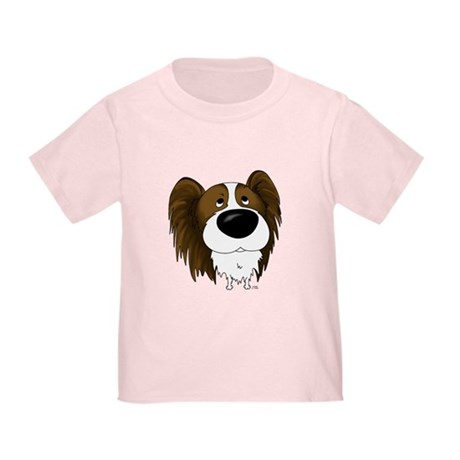 Big Nose/Butt Papillon Toddler T-Shirt