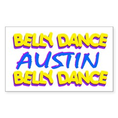 Belly Dance Austin Texas Decal