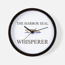 The Harbor Seal Whisperer Wall Clock