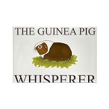 The Guinea Pig Whisperer Rectangle Magnet