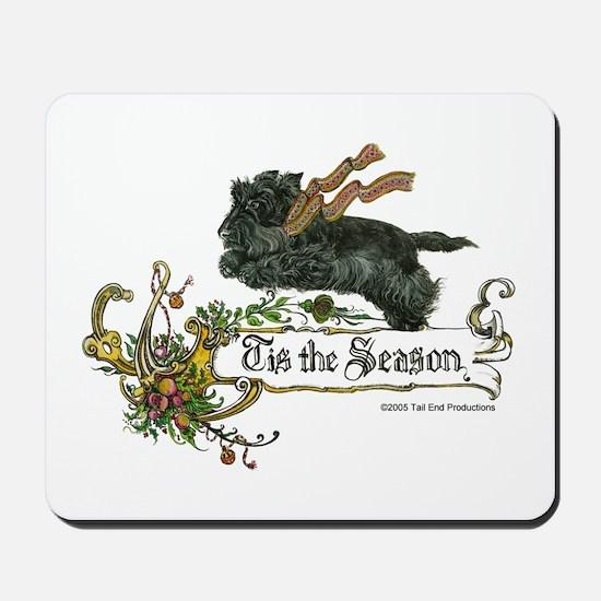 Scottish Terrier Season Mousepad