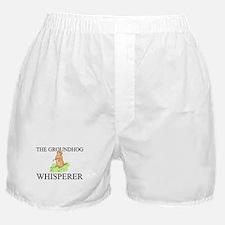 The Groundhog Whisperer Boxer Shorts