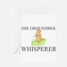 The Groundhog Whisperer Greeting Cards (Pk of 10)