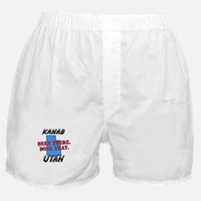 kanab utah - been there, done that Boxer Shorts