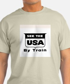 See The USA By Train ! T-Shirt