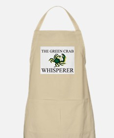 The Green Crab Whisperer BBQ Apron