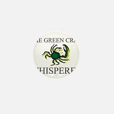 The Green Crab Whisperer Mini Button