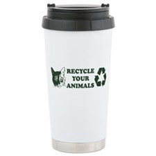Recycle your animals Travel Mug