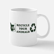Recycle your animals Mug