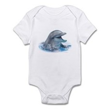 Happy Dolphin Infant Bodysuit