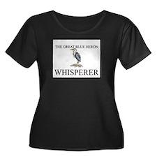 The Great Blue Heron Whisperer T