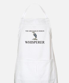 The Great Blue Heron Whisperer BBQ Apron