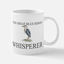 The Great Blue Heron Whisperer Mug