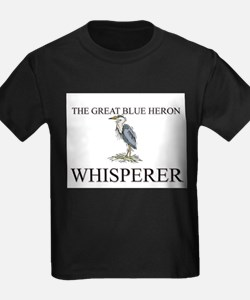 The Great Blue Heron Whisperer T