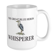 The Great Blue Heron Whisperer Mug
