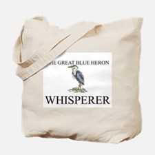 The Great Blue Heron Whisperer Tote Bag