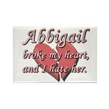Abbigail broke my heart and I hate her Rectangle M