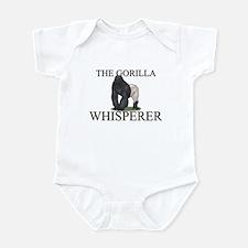 The Gorilla Whisperer Infant Bodysuit