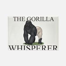 The Gorilla Whisperer Rectangle Magnet
