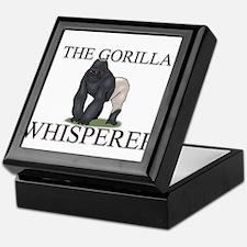 The Gorilla Whisperer Keepsake Box