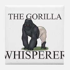 The Gorilla Whisperer Tile Coaster