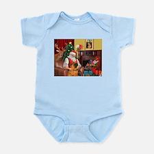 Santa's Shar Pei Infant Bodysuit