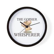 The Gopher Whisperer Wall Clock