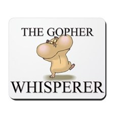The Gopher Whisperer Mousepad