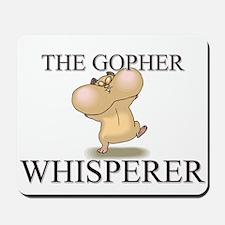 The Gopher Whisperer Mousepad