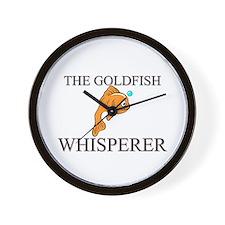 The Goldfish Whisperer Wall Clock
