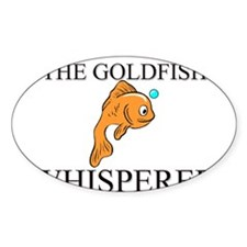 The Goldfish Whisperer Oval Decal