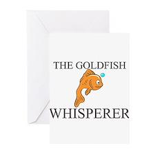 The Goldfish Whisperer Greeting Cards (Pk of 10)