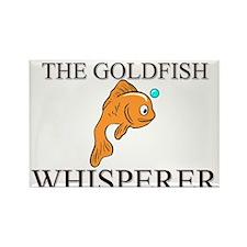The Goldfish Whisperer Rectangle Magnet (10 pack)