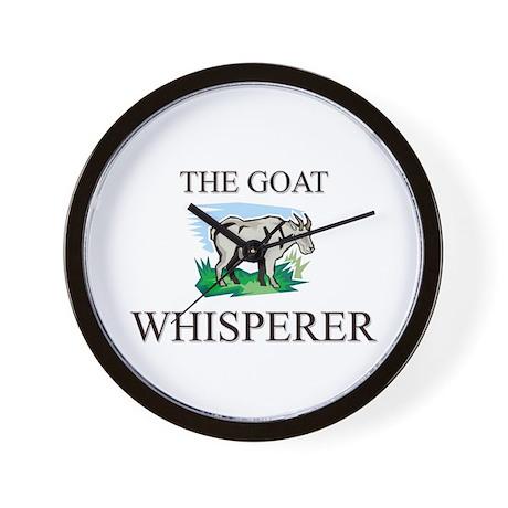 The Goat Whisperer Wall Clock