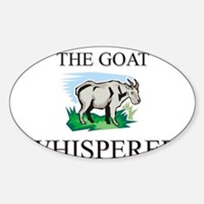 The Goat Whisperer Oval Decal