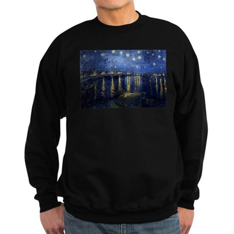 Starry Night Over the Rhone Sweatshirt (dark)